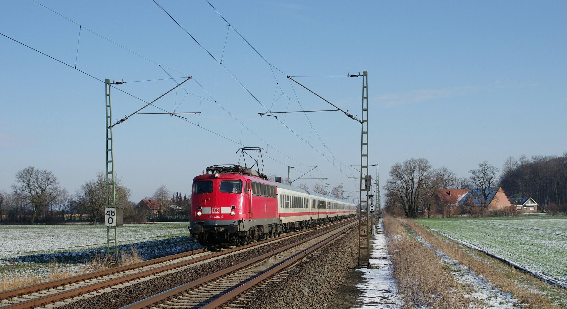 Schönheit von Zügen ...