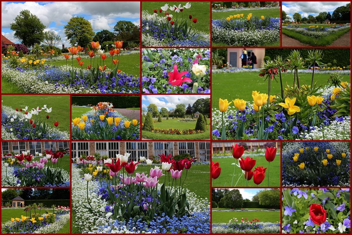 Schönheiten im Park von Belvedere bei Weimar