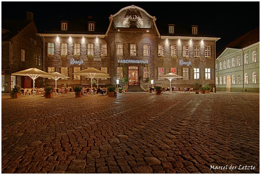 schönstes Nachtfoto von Goslar