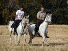 Schöööön ist´s auf dem Rücken der Pferde