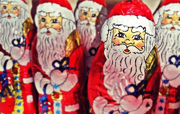 Schoko Weihnachtsmänner :-)