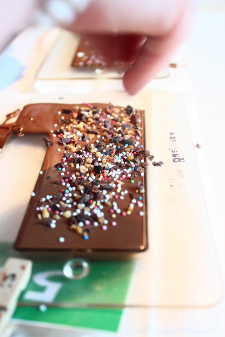 Schokolade selbst gestalten :)