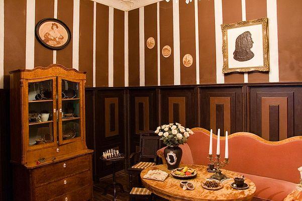 Schokoladenzimmer im Halloren-Museum