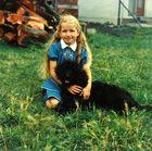 Schon Damals mit Hund