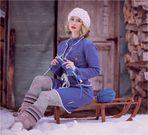 .schon mal stricken für den nächsten Winter.