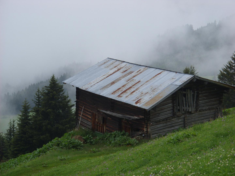 schon wieder eine Hütte
