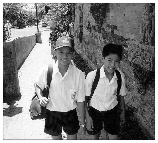 School Boys in Klungkung