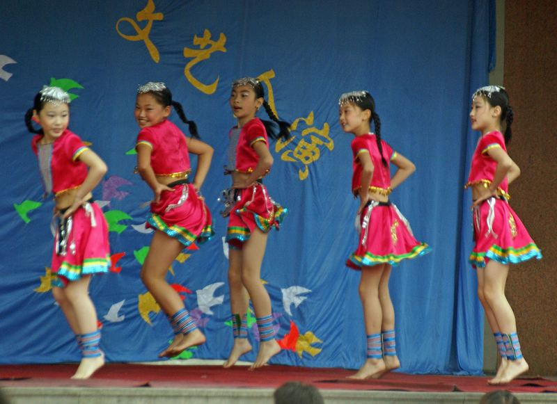 School festival in SHOUGUANG