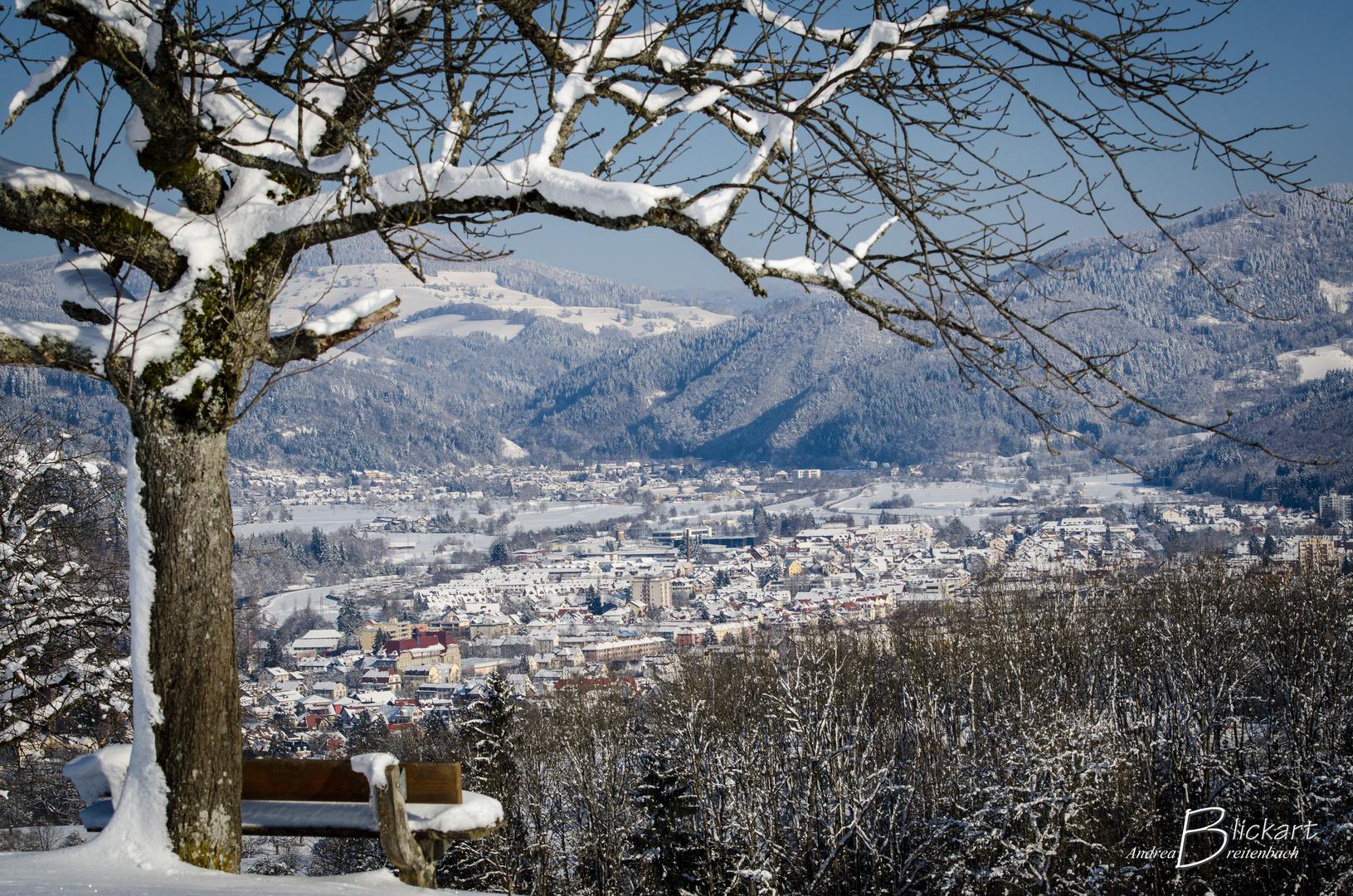 Schopfheim im Winter
