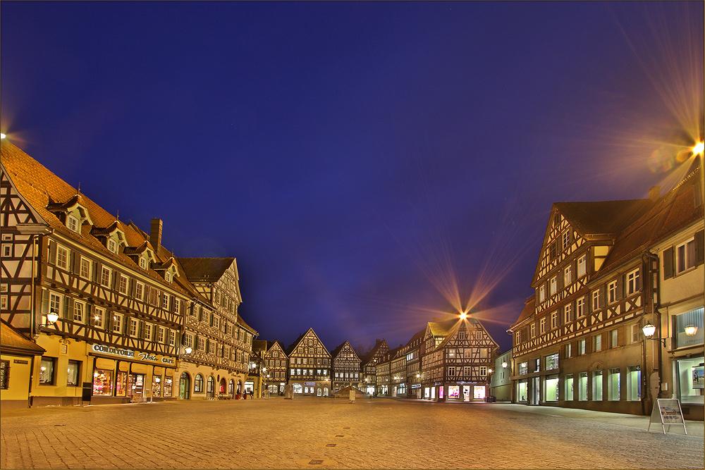 Schorndorf - der Marktplatz