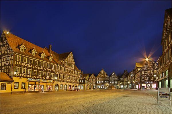 Schorndorf - der Marktplatz II