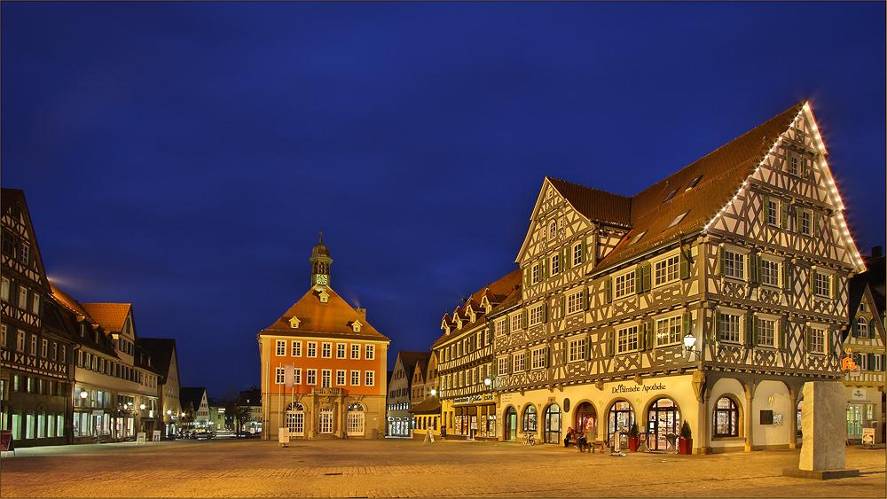 Schorndorf - der Marktplatz III