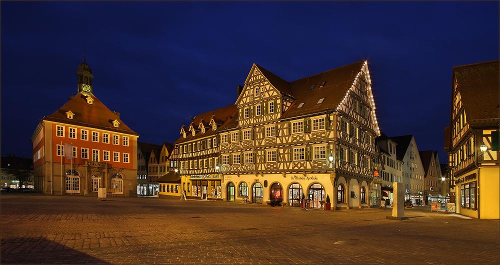 Schorndorf - der Marktplatz IV