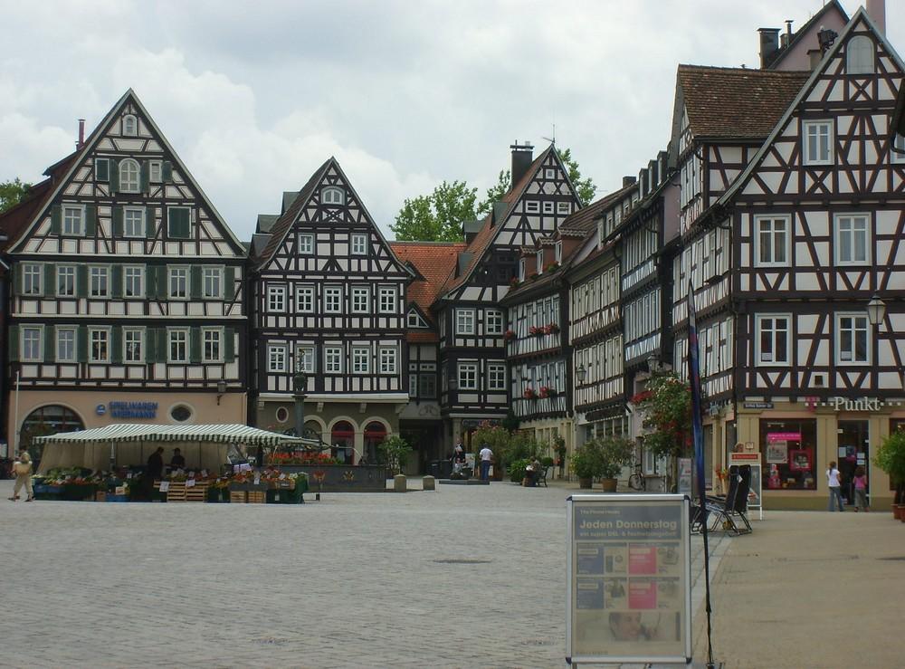 Schorndorf - oberer Marktplatz
