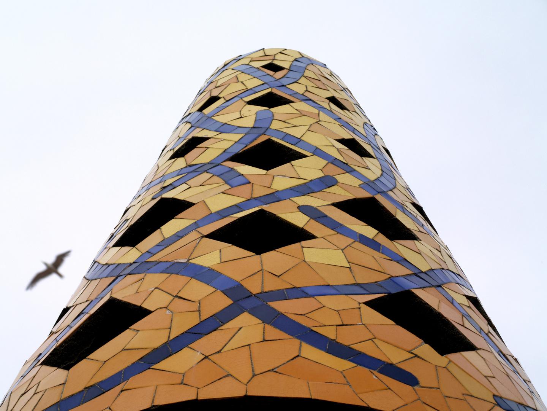 Schornstein auf dem Palau Güell