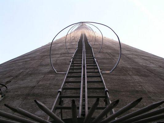 Schornstein des Kraftwerkes Werdohl-Elverlingsen