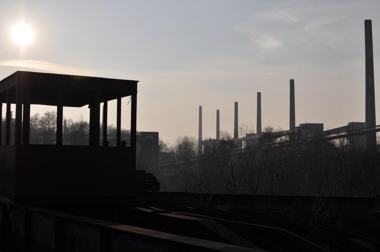 Schornsteine der Kokerei Zollverein