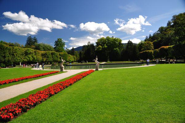 Schosspark Hellbrunn in Salzburg