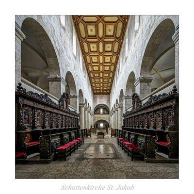 """Schottenkirche St. Jakob ( Regensburg ) """" Gott zu Gefallen..."""""""
