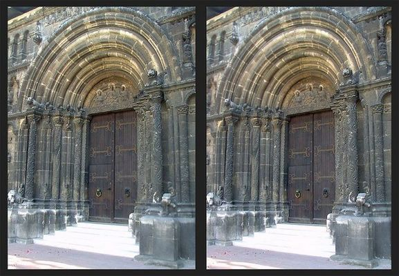 Schottenportal der St. Jacob Kirche in Regensburg