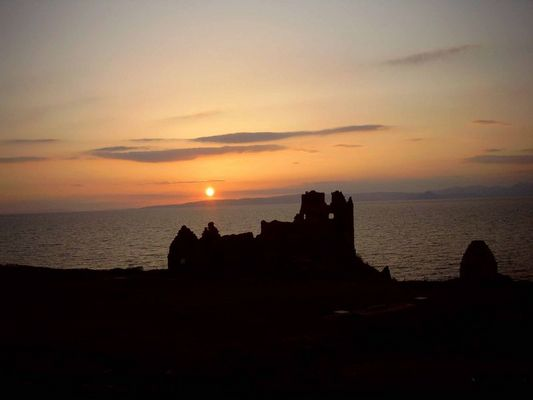 Schottischer Sonnenuntergang