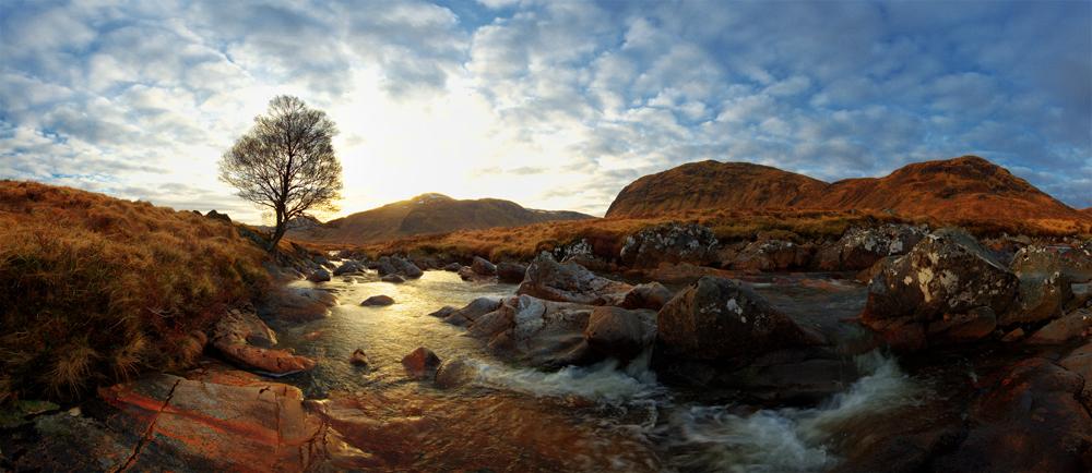 Schottisches Wasser VII