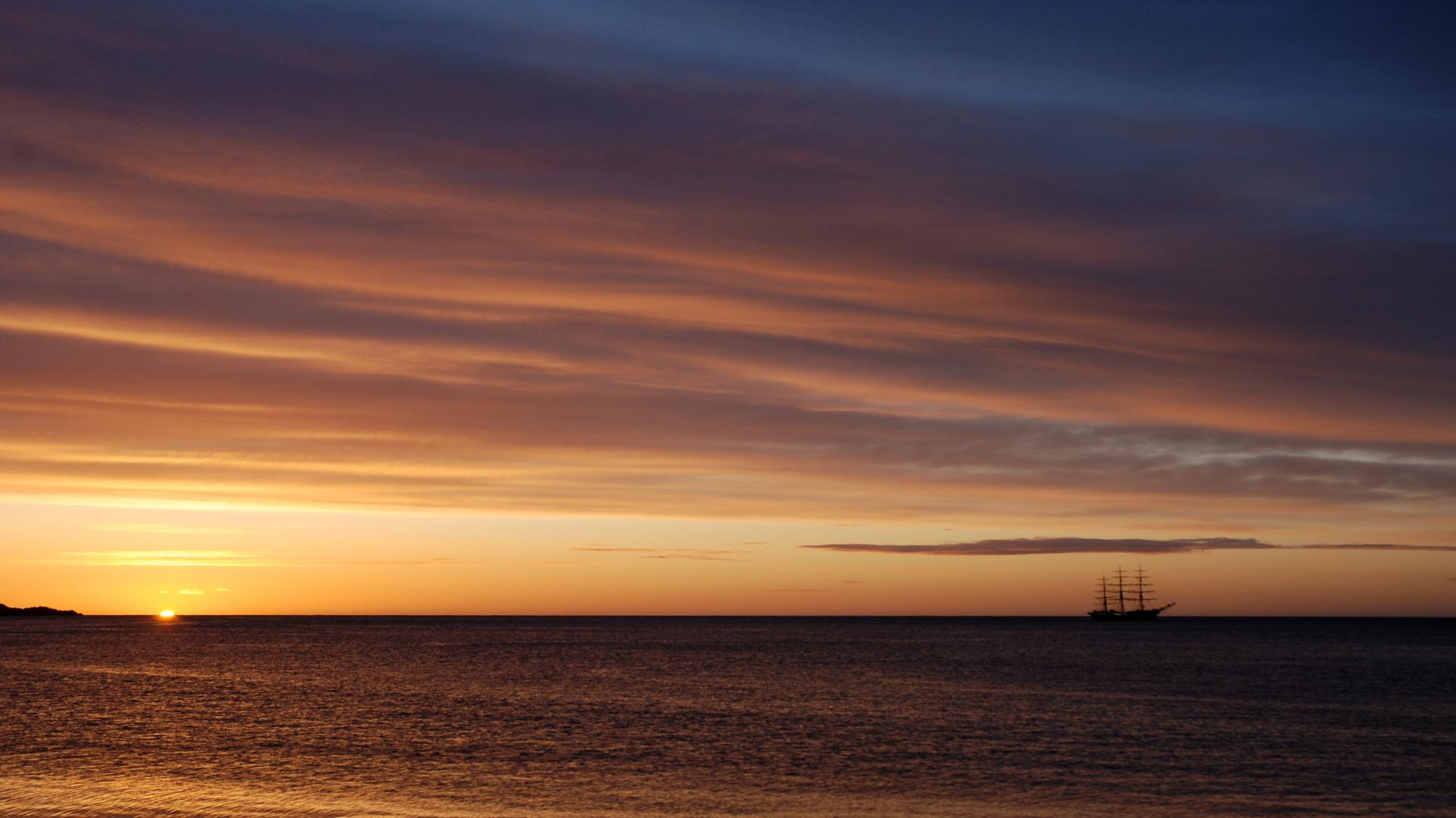 Schottland am Morgen