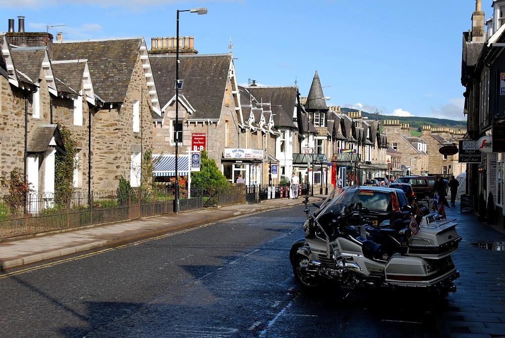 Schottland auf zwei Rädern...