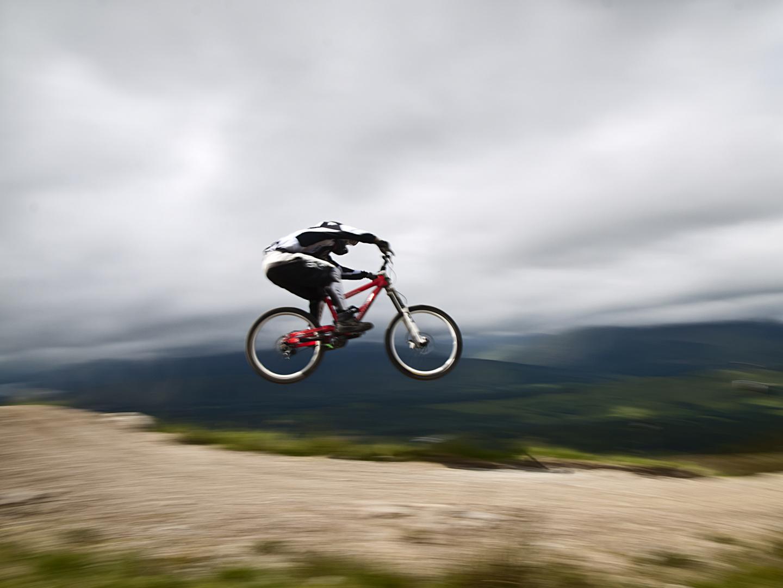 Schottland Ben Nevis : Downhill