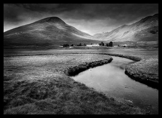 Schottland in Schwarzweiß