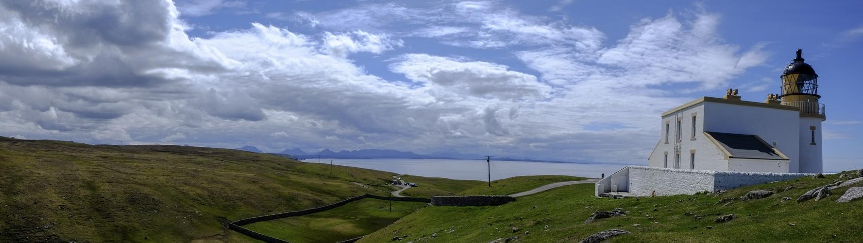 Schottland Leuchttrumpanorama