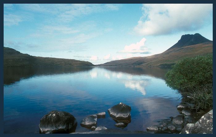 Schottland, schöne Landschaft
