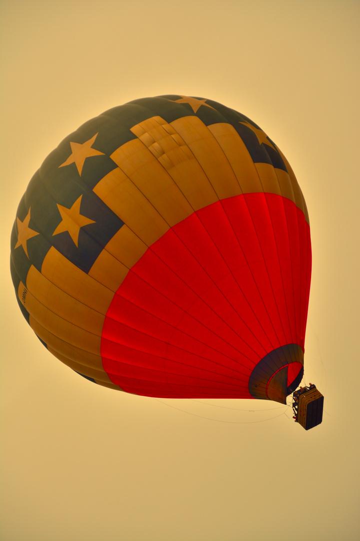 schräger ballon