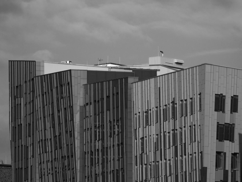 Schräges Wohnen in der Hafen City (2)