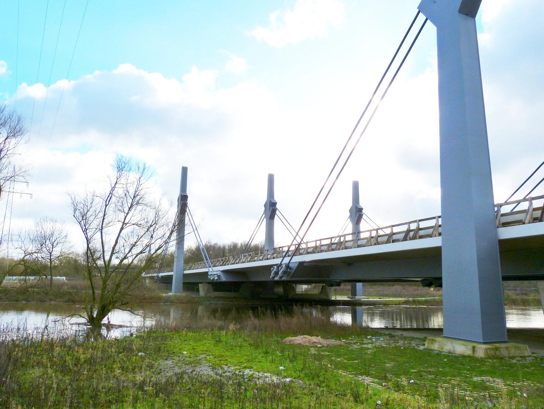 Schrägseilbrücke Bad Oeynhausen A 30