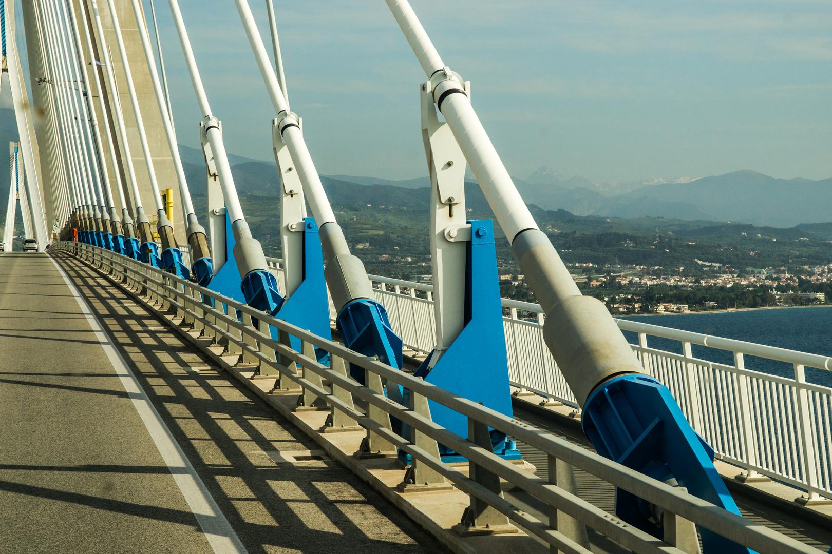 Schrägseilbrücke Rion - Andirion, Detail
