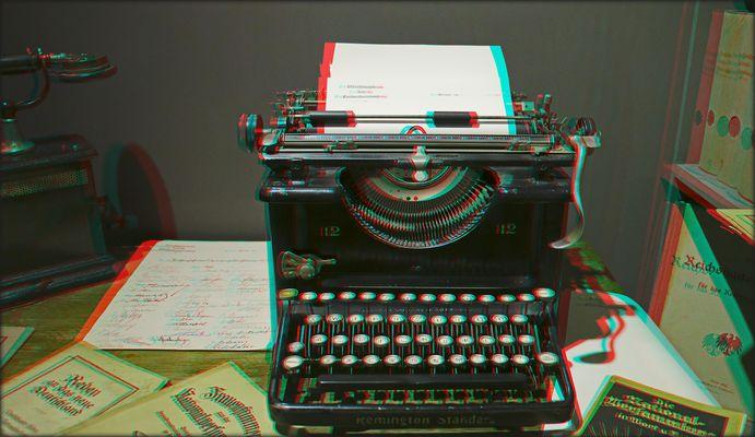 Schreib mal wieder (3D)