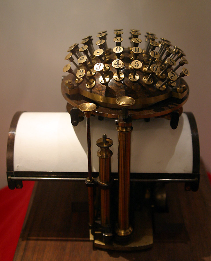 Schreibmaschine Malling Hansen