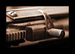Schreibmaschinendetail