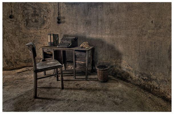 Schreibtisch aus vergangener Zeit