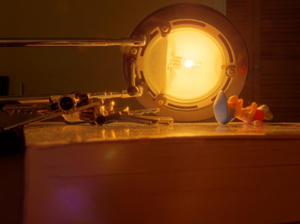 Schreibtischlampen Konvolut