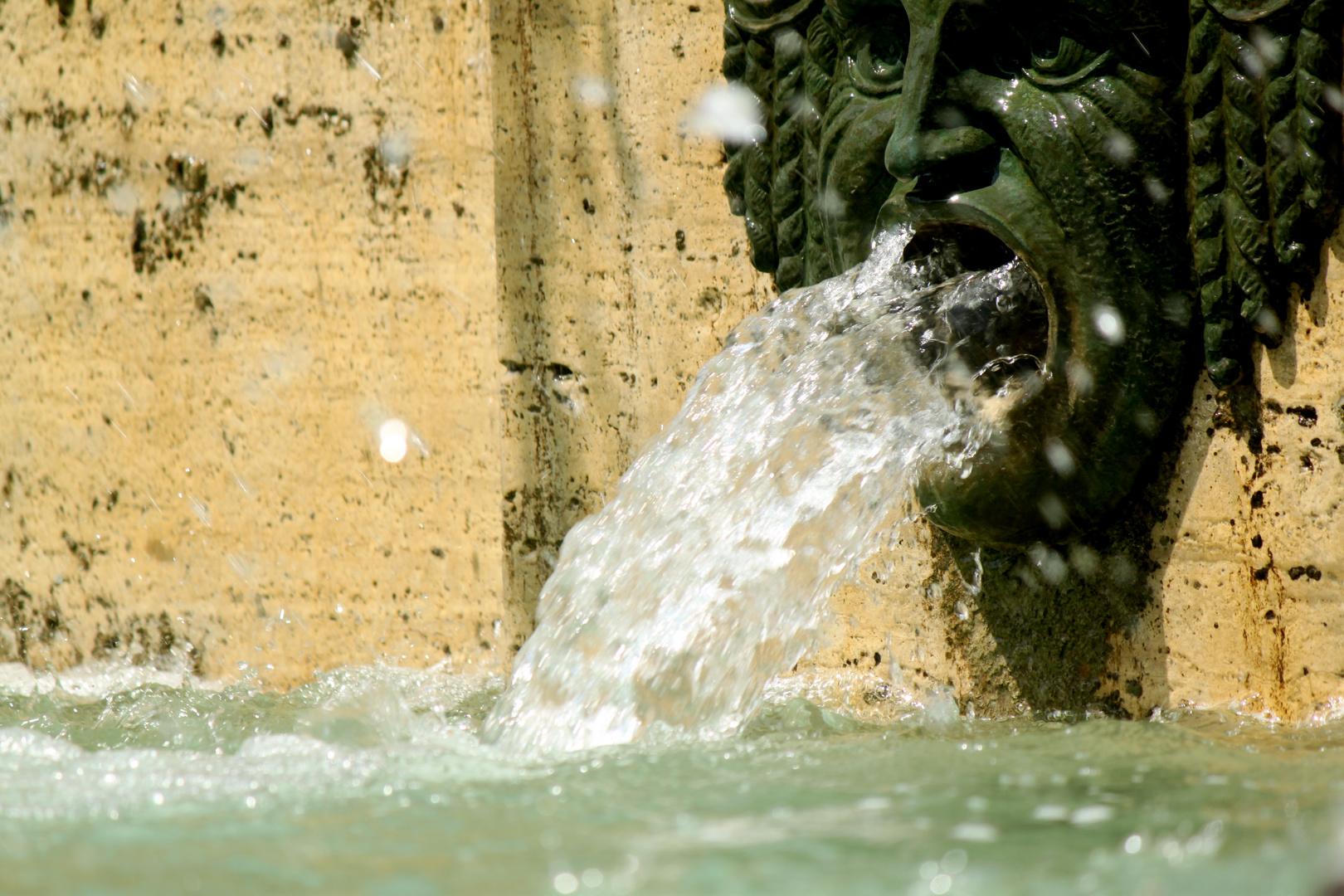 Schreiender Brunnen
