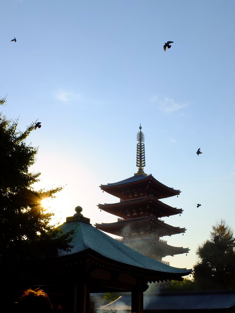 Schrein in Tokyo