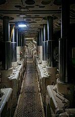 Schreitender hydraulischer Grubenausbau