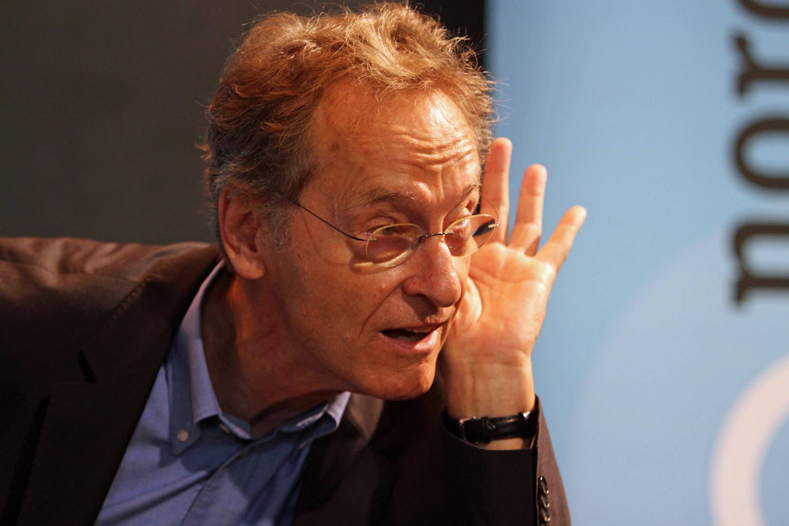 Schriftsteller Bernhard Schlink als Zuhörer :-)