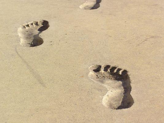 Schritte........