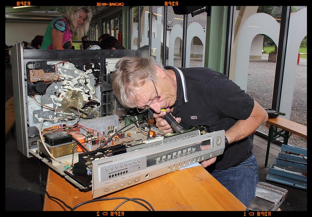 Schrott ??? - Repaircafe Höfen 20.09.2014