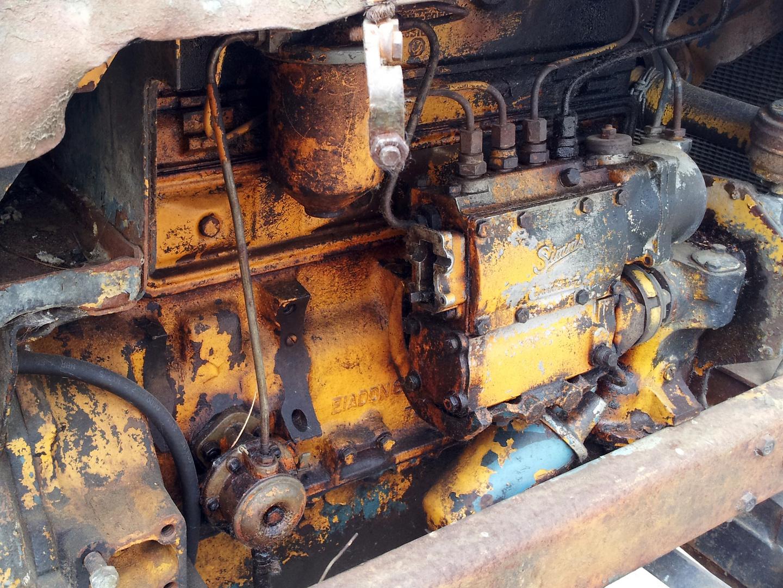 Schrottreifer Traktormotor