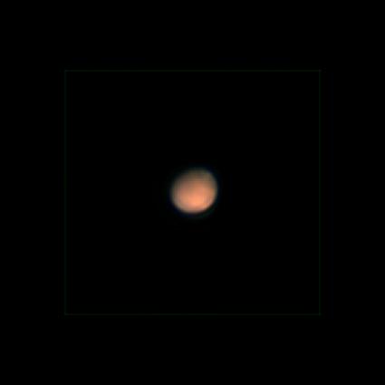Schrumpfender Mars