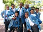 Schüler der Floreat Primary School in Steenberg, Cape Town
